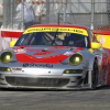 Flying Lizard Porsche Long/Bergmeister Grab ALMS Long Beach GT Win and Tie