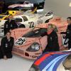 German Tennis Stars Visit The Porsche Museum