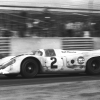 1970 Rolex 24 Overall Champion No. 2 Gulf Porsche 917 Joins the Daytona 50th Anniversary Display