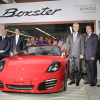 Porsche Rolls Out the First Boxster Roadster Built by Owner Volkswagen
