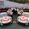 Flying Lizard Porsche No More…