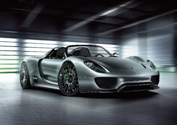 Porsche Reveals High-Performance 918 Spyder Concept