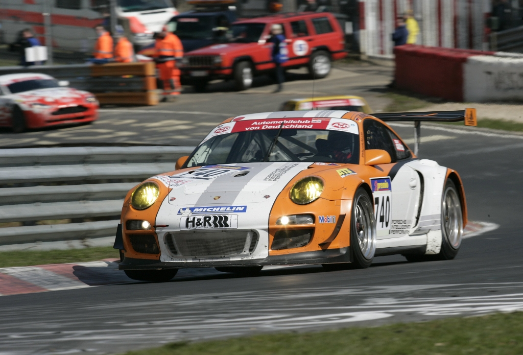 Porsche GT3 Hybrid on Podium at Nürburgring Long Distance Championship