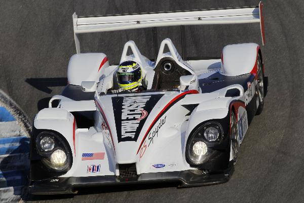 Porsche RS Spyder fastest overall in first official practice for third round of ALMS