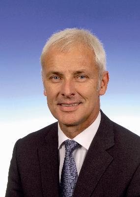 Matthias Müller New Chairman of the Porsche AG Board of Management