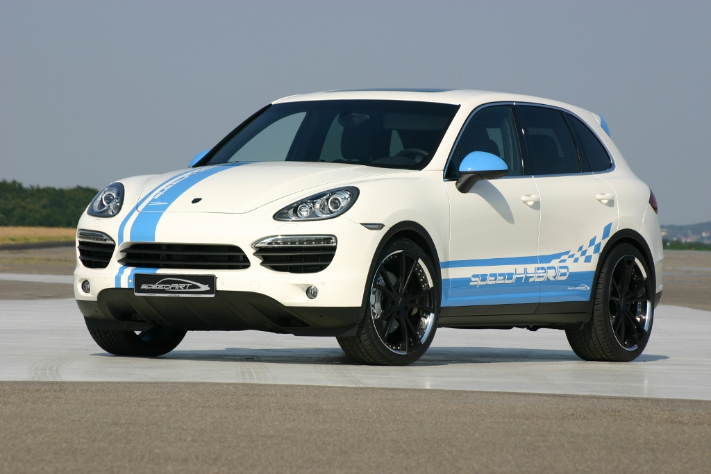 SpeedART introduces SpeedHYBRID 450 Cayenne