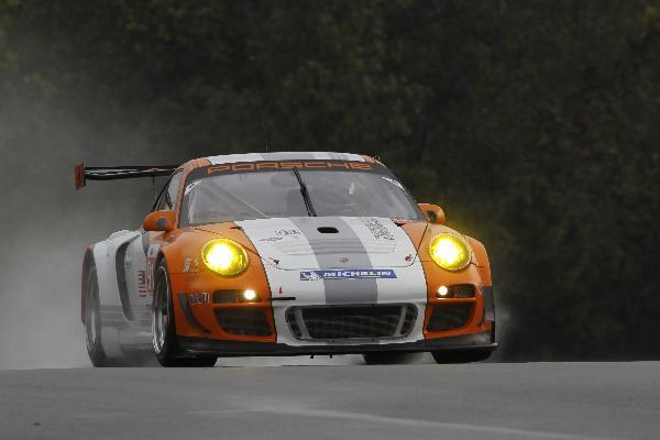 Porsche Motorsport Team Welcomes Wet Weather for Testing at Road Atlanta