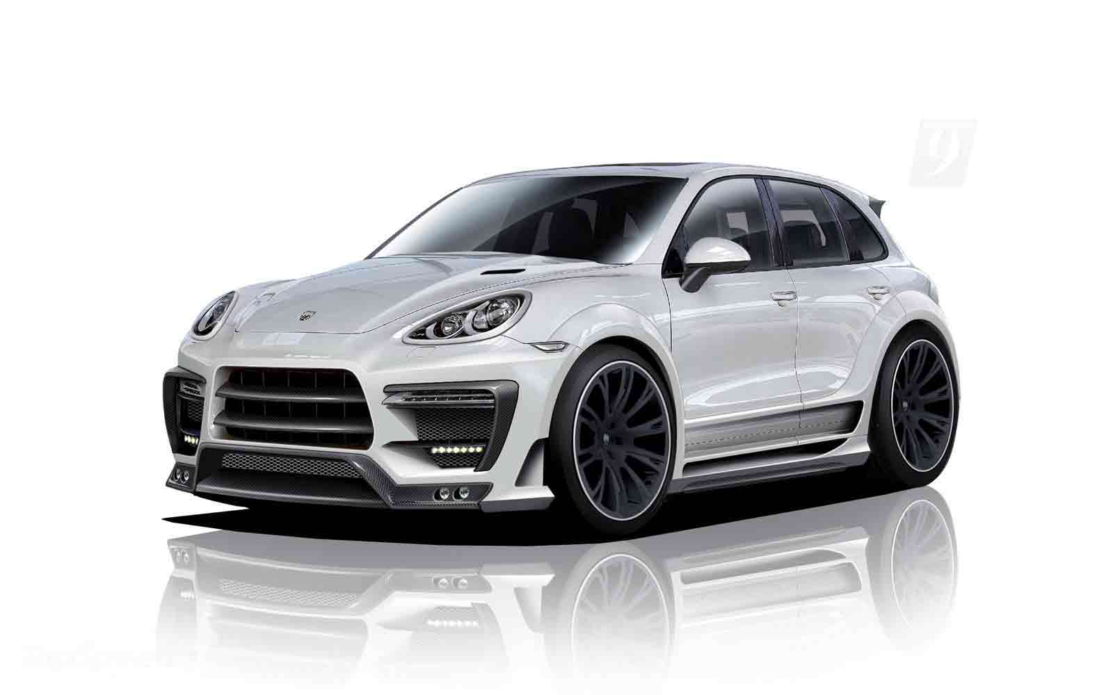 Lumma Design CLR 558GT Cayenne Revealed