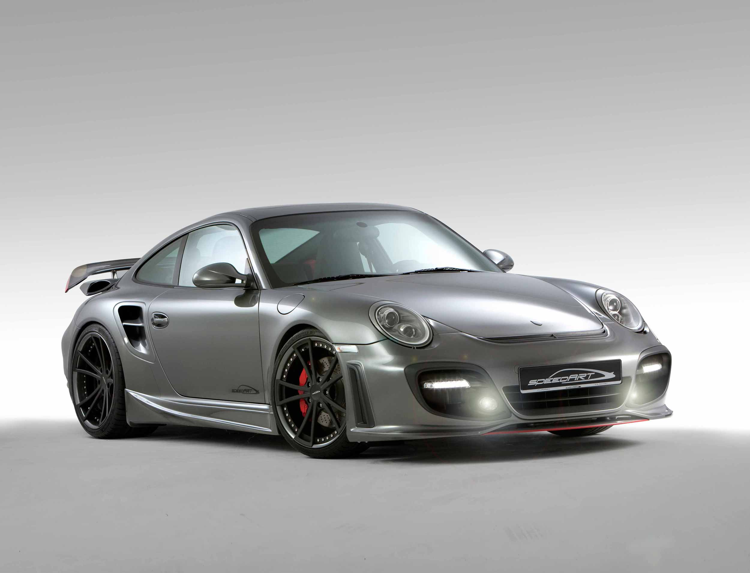 SpeedART BTR-II 650 EVO Porsche 997 Turbo Now With Enforced PDK-Gearbox
