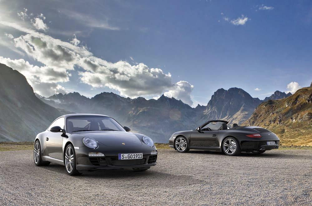 Porsche Announces Special 911 Black Edition