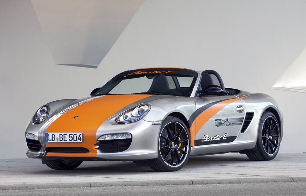Porsche Reveals New Electric Boxster E