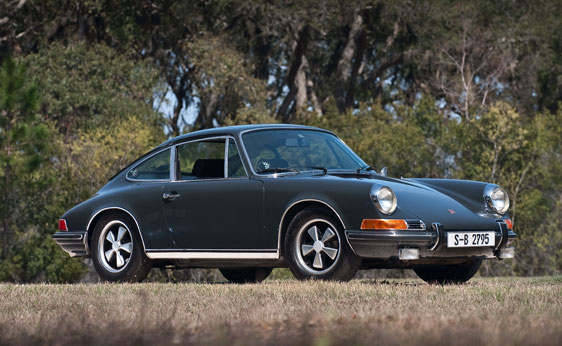 McQueen's '70 911S Featured in LeMans To Be Auctioned at RM's Monterey Auction