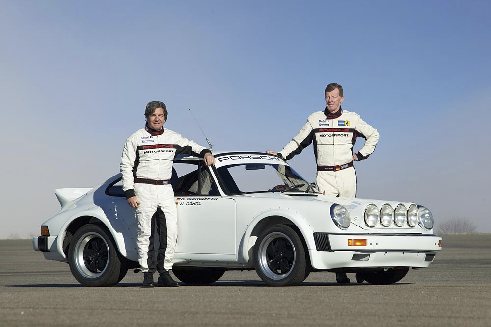 Racing Team Röhrl/Geistdörfer After 30 Years Back In The 911 SC