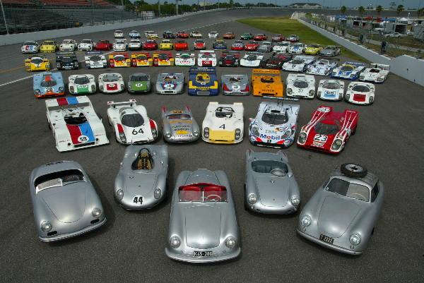 Porsche Rennsport Reunion IV Starts Its Engine