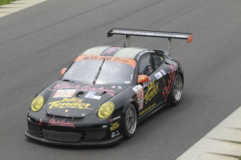 Alex Job Racing Finishes An Exciting Third At Lime Rock in ALMS GTC