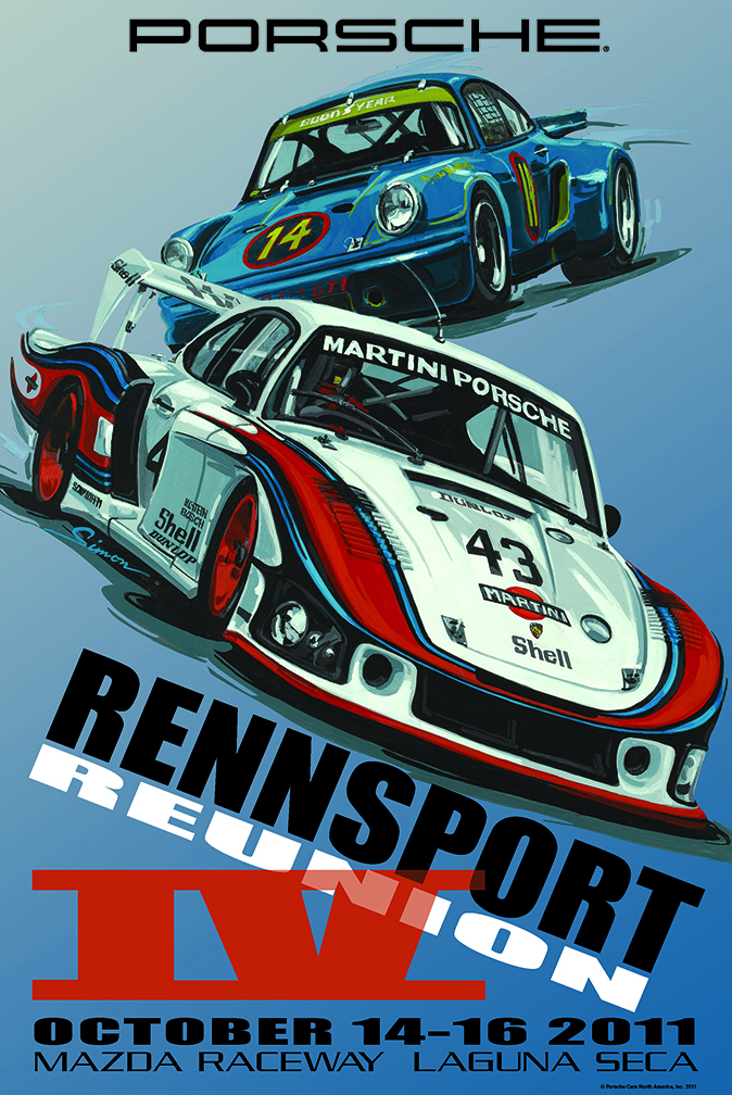 New 911 To Make North American Debut At Rennsport Reunion