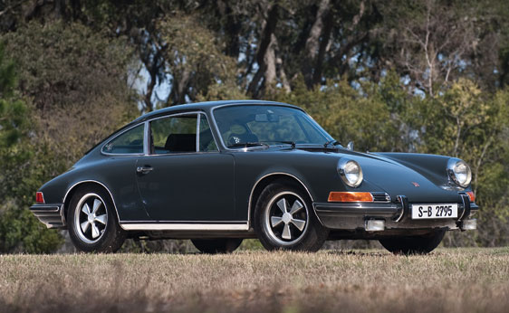 McQueens's Porsche 911S Sells For $1.375M At Auction