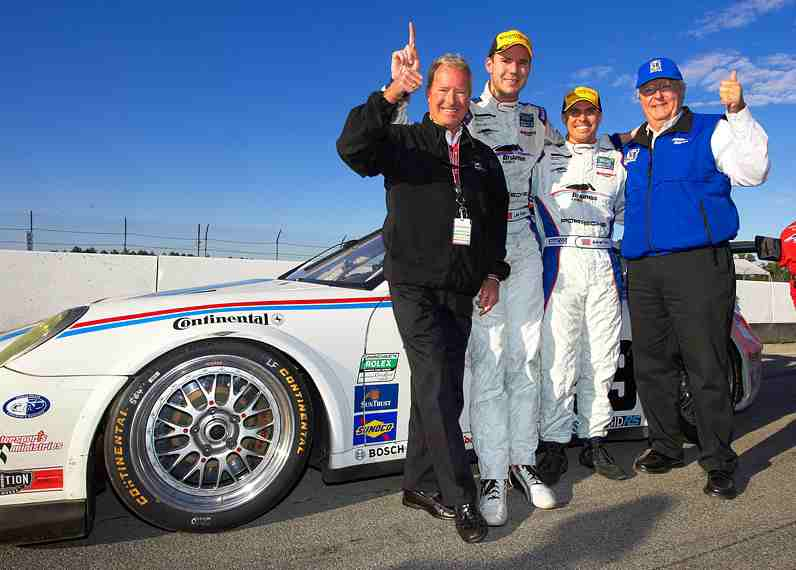 Brumos Racing Closes Out Memorable 2011 Season as Rolex GT Champions