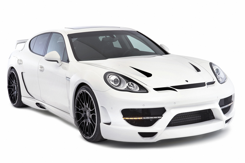 Hamann Introduces Wide-Body Kit For The Porsche Panamera