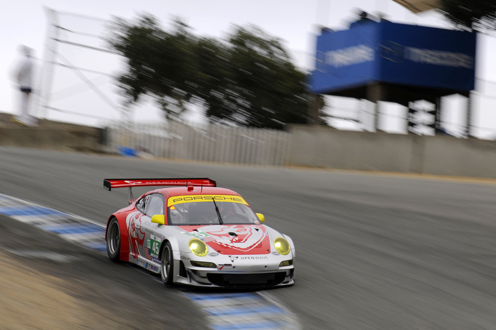 Long Fifth in Lizard Porsche at Laguna Despite Perfect Lap