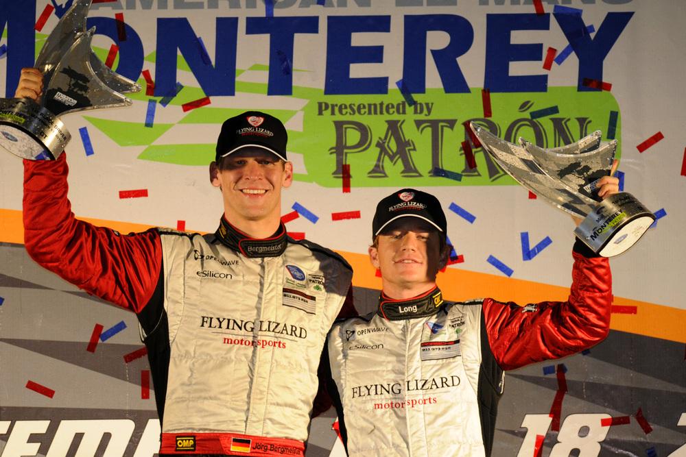 Lizard Porsche Wins ALMS GT at Laguna Seca