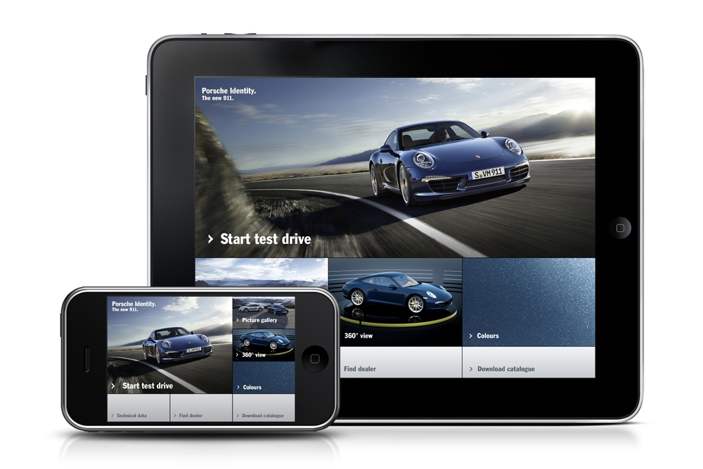 Porsche Launches New Multimedia Campaign