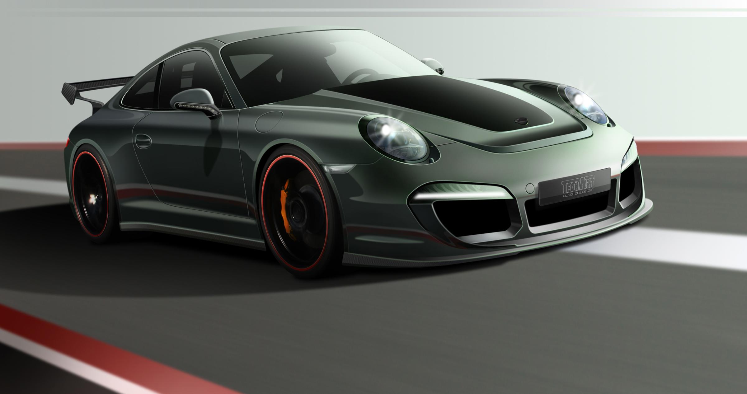 TechArt's Design Concept For The New Porsche 911