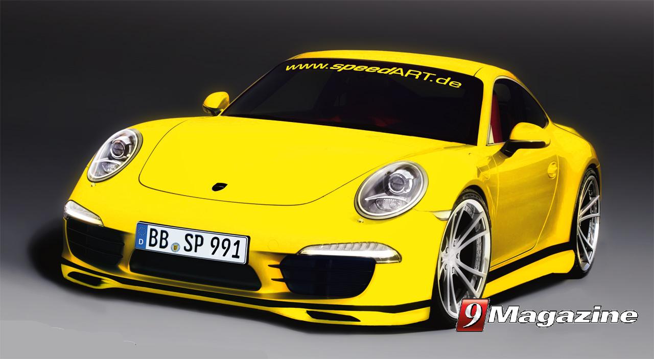 SpeedART Announces SP91-R Package For New Porsche 991Carrera S