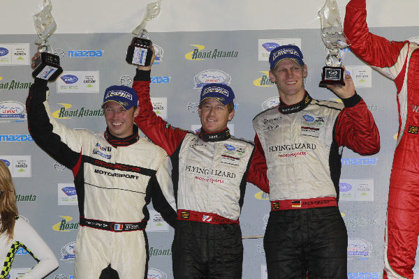 Lizards Land ALMS Petit Le Mans First Place GT Finish