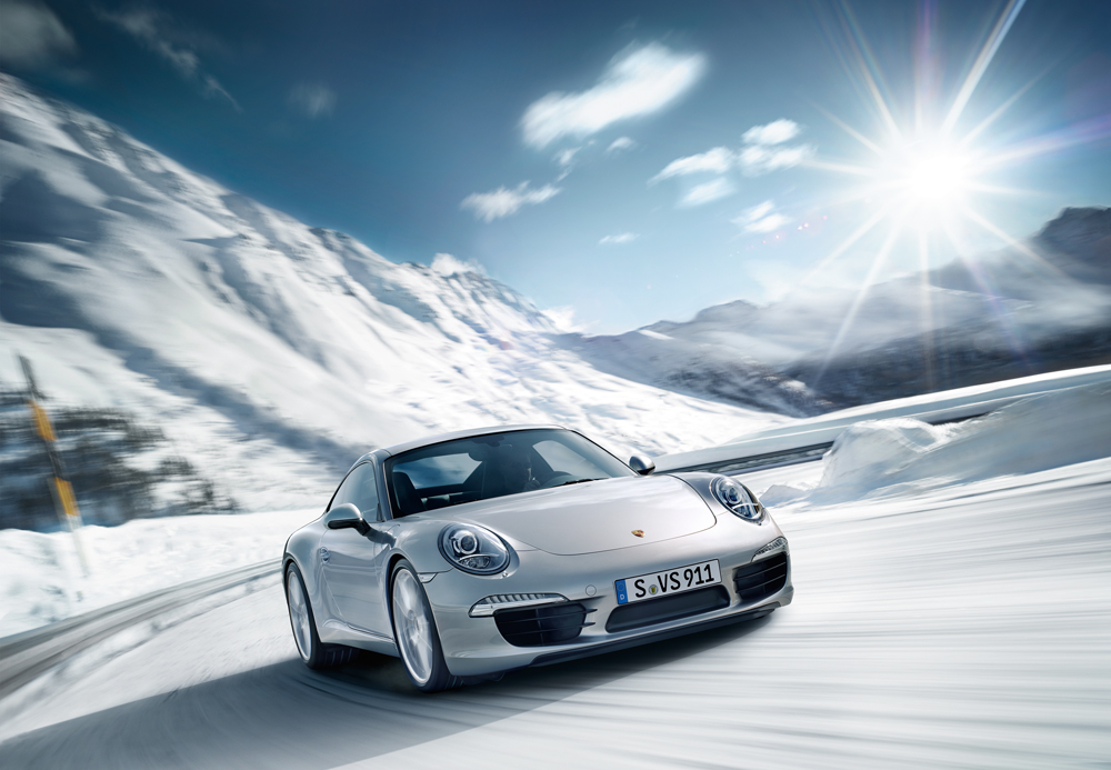 A Winter Vacation With The New Porsche 911