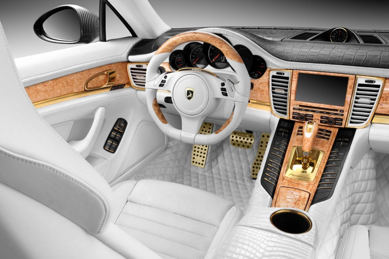 One-Off Panamera Turbo S Features Crocodile Leather & Real Gold