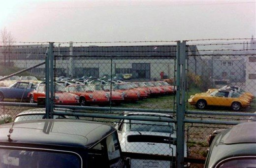 Photos Of The Porsche Factory Cicra 1972