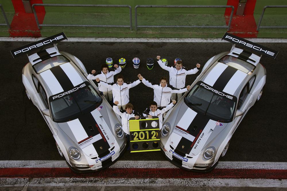 Six Finalists Shine at Porsche Junior Driver Programme