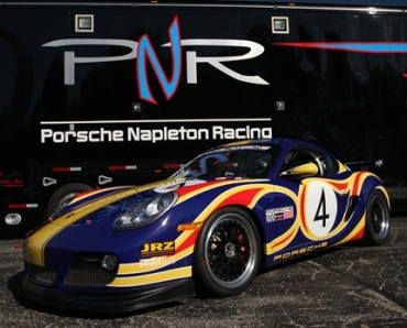 """""""Rennsport Edition"""" Cayman S Goes to Ebay for Charity"""