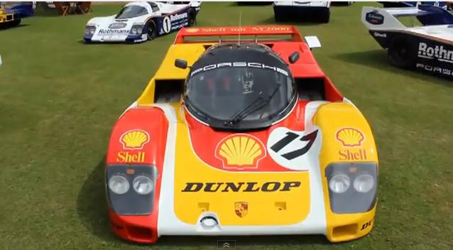 VIDEO: Racing Legends The Porsche 956 & 962