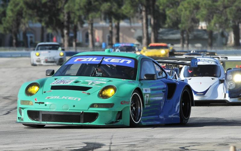 Team Falken Tire Makes Final Sebring 12 Hour Preparations