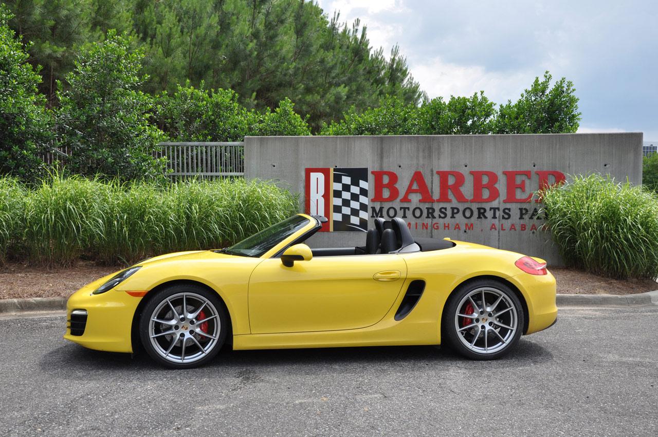 FIRST DRIVE: 2013 Porsche Boxster S