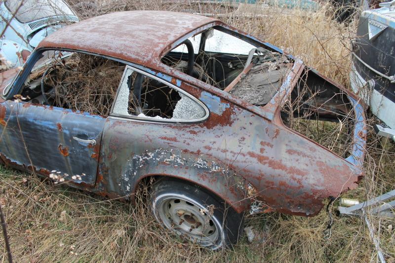 A Bleak & Desolate Wasteland For Porsches