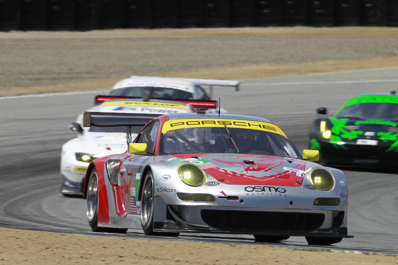 ALMS Results: Porsche Teams Improve Performance in Monterey