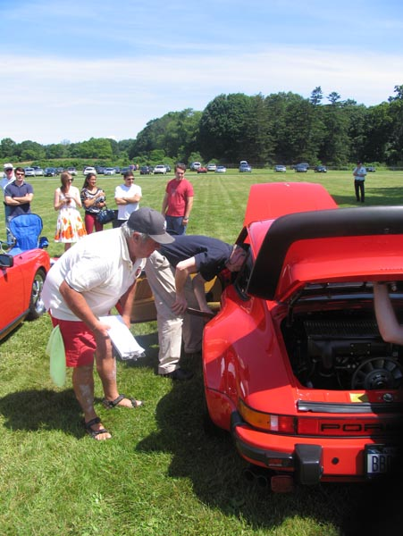 NY Metro PCA Holds It's Annual Concours d' Elegance