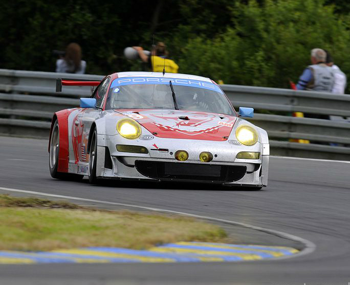 Patrick Pilet Puts Flying Lizard No. 79 on GTE Am Pole for 24 Hrs of LeMans