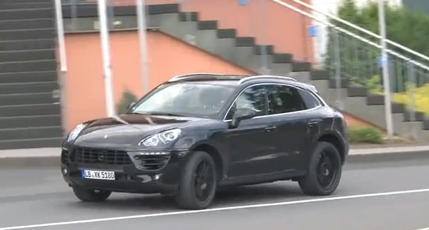 Spy Video of 2014 Porsche Macan Surfaces