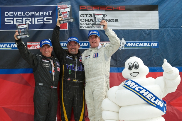Change in Pace for the Porsche GT3 Cup Challenge Canada by Michelin