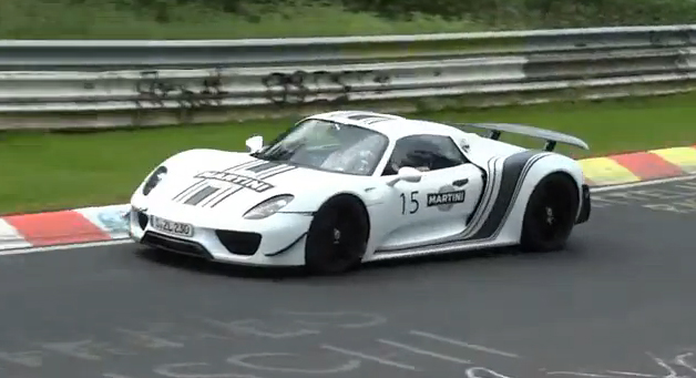 VIDEO: 918 Spyder Spotted At The Ring
