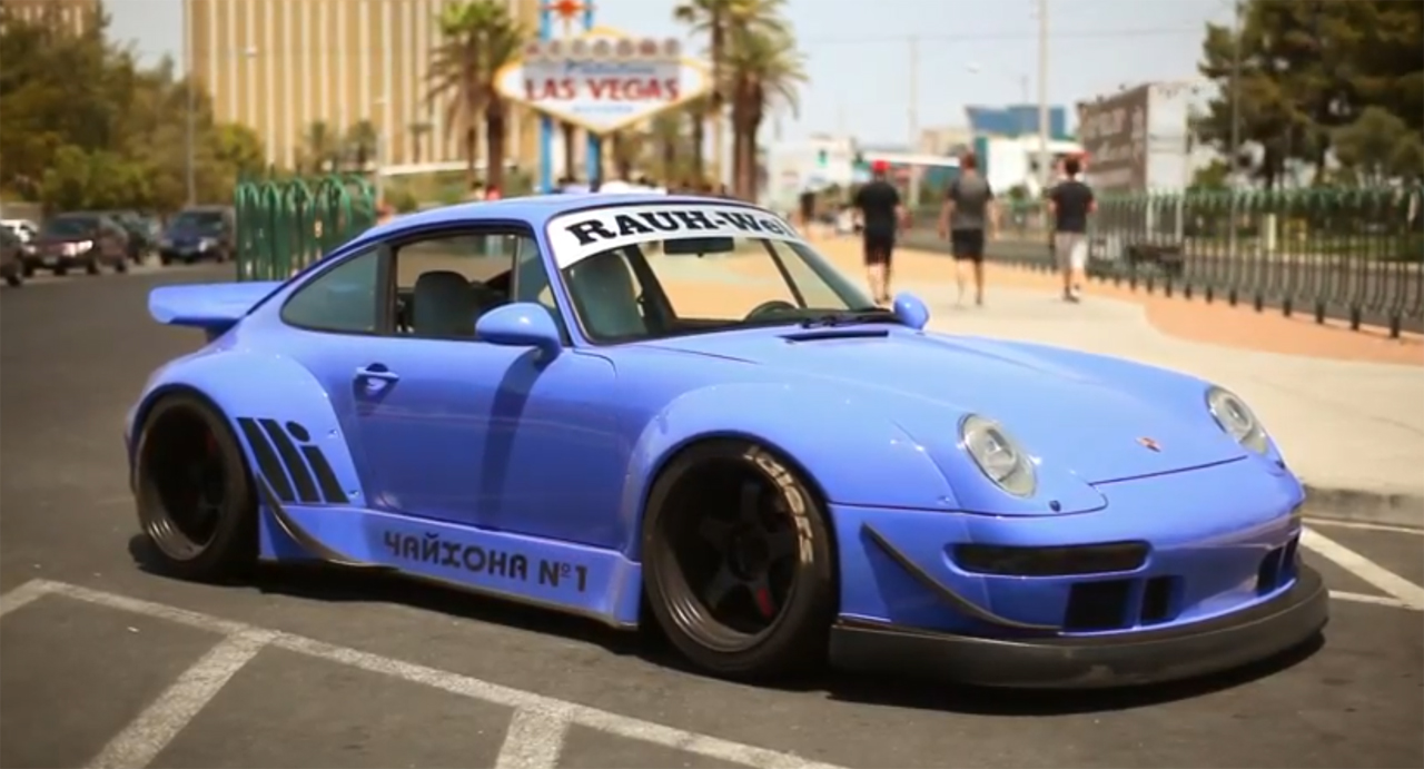 VIDEO: RWB USA Porsche 993 No .1