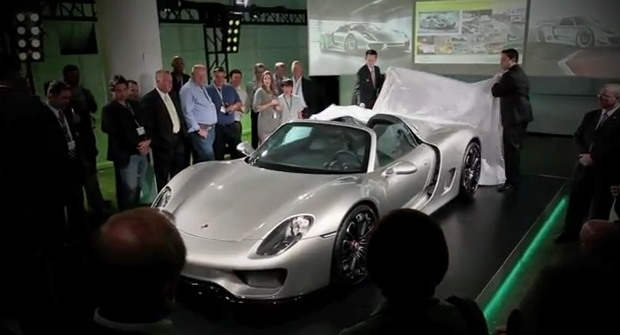 Could This Be The Production Version of The 918 Spyder?