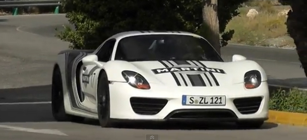 VIDEO: 918 Spyder Caught Testing On The Streets Of Germany