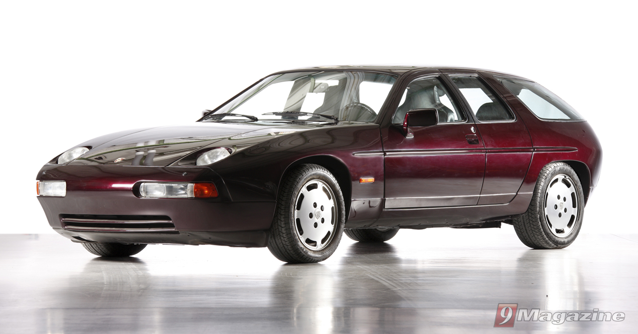 Rarely Seen 4-Door Porsche 928 Concept To Be On Display at Pebble Beach