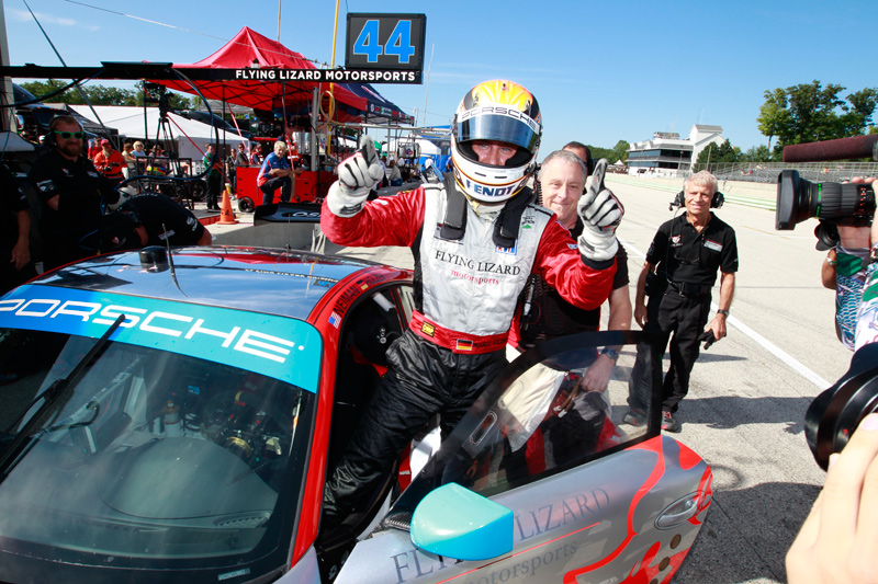 Marco Holzer Earns First ALMS Pole in Lizard RSR