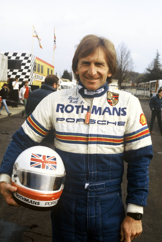 Derek Bell to be Inducted to the Motorsports Hall of Fame of America
